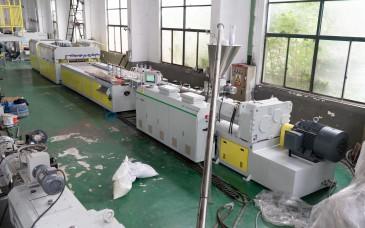 WPC 木塑门板生产线
